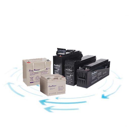 شرکت هژیر صنعت - مرکز خرید یو پی اس و انواع یوپی اس - باتری First Power صرفه جویی در زمان