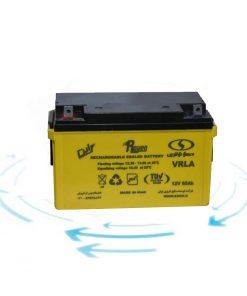 خرید باتری 12 ولت 65 آمپر ساعت برند صبا باتری