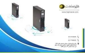 هژیر صنعت - یو پی اس - انواع یوپی اس - Genesis Plus RM 1 to 3 KVA UPS