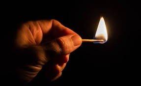 کبریت روشن ، سوی روشنایی