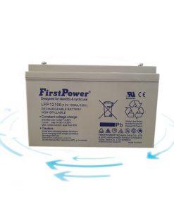 خرید باتری 12 ولت آمپر برند First Power