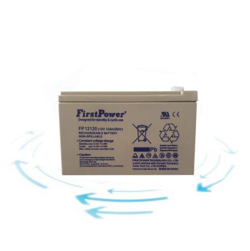 خرید باتری 12 ولت 12 آمپر ساعت برند First Power