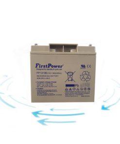 خرید باتری 12 ولت 18 آمپر ساعت برند First Power