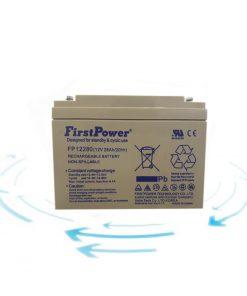 خرید باتری 12 ولت 28 آمپر ساعت برند First Power