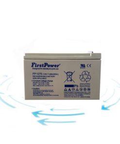 خرید باتری 12 ولت 7 آمپر ساعت برند First Power