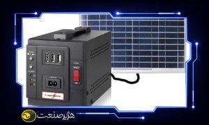ویژگی یو پی اس خورشیدی و یو پی اس معمولی